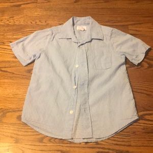 Button up and shorts set